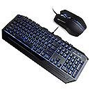 Cooler Master Storm Devastator Gaming Keyboard and Mouse Combo (BLACK/BLUE Light)